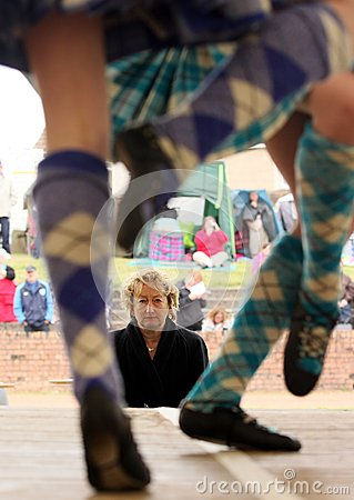 Highland Games Editorial Photography