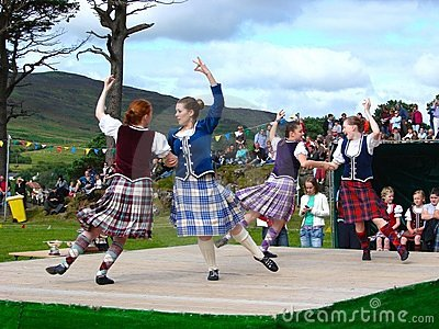 Highland Games Editorial Image