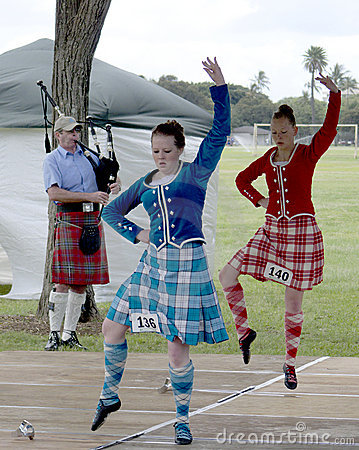 Highland Games Editorial Photo