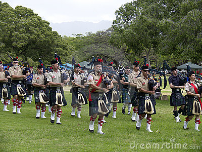 Highland Games 7 Editorial Photography