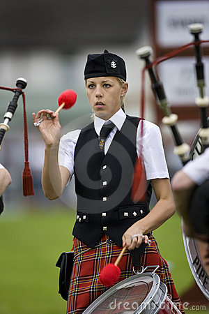Highland Games in Scotland Editorial Stock Photo