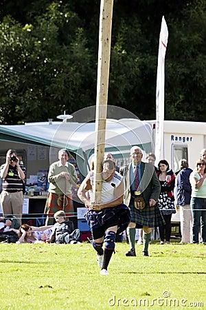 Highland games scotland Editorial Photography