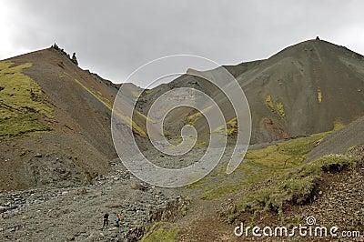 Highland landscape in Iceland
