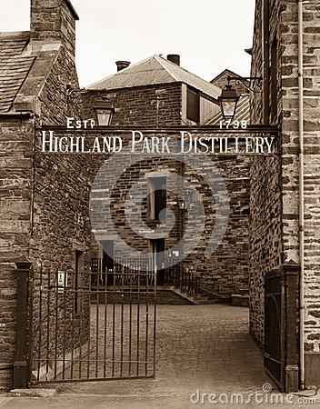 Highland Park Distillery, Orkney Editorial Image