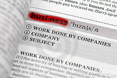 Highlighted business definition