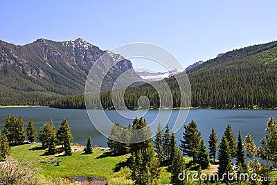 Highlite Lake at Gallatin National Forest, Bozeman