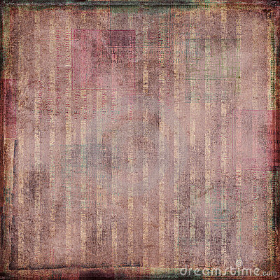 Highly textured striped vintage shabby background