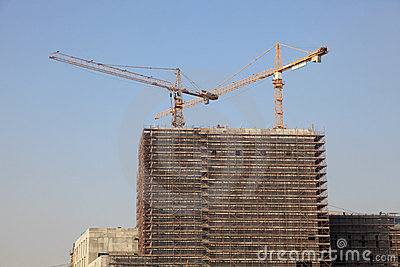 Highrise building construction
