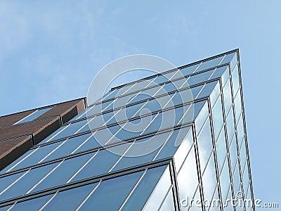 Hight-rise modern building