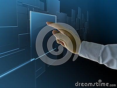 Hightech touch