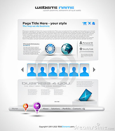 HighTech Website - Elegant Design
