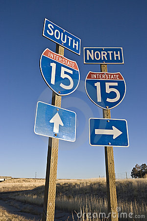 Highway 15 sign