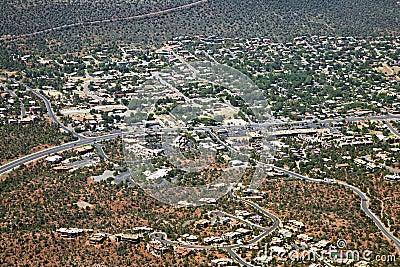 Highway 89a in Sedona, Arizona