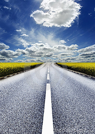 Free Highway Royalty Free Stock Photo - 962635