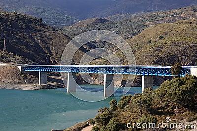 Highway bridge in Spain