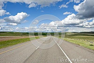 Highway distant view