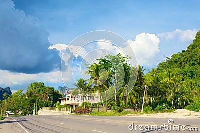 Highway in Krabi