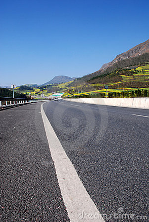 Highway In Mountains Royalty Free Stock Photos - Image: 6476708