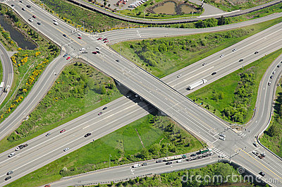 Highway Overpass and Intersection