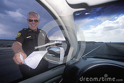 Highway patrolman Editorial Photography