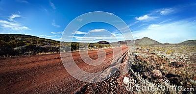 Highway on Reunion island
