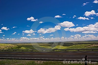 Highway and Sky