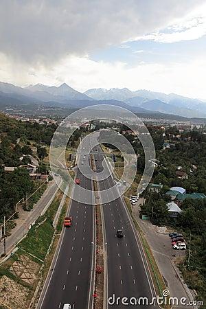 Highway to Almaty