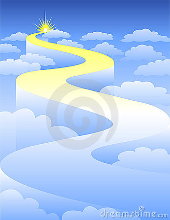 Free Highway To Heaven/eps Royalty Free Stock Photography - 3452627