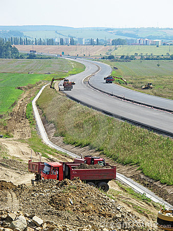 Highway under contruction