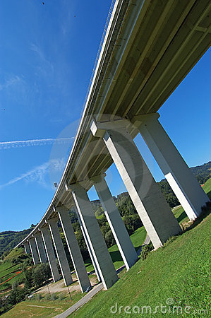Highway viaduct