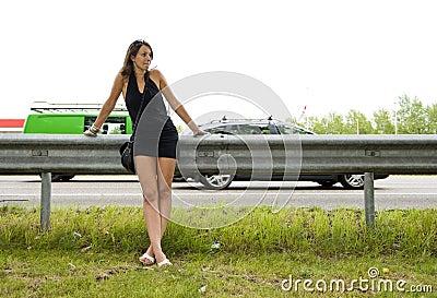 Highway woman