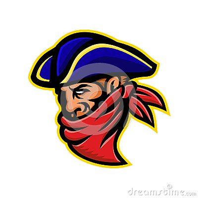 Free Highwayman Or Robber Mascot Stock Image - 115621271