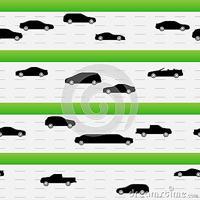 Highways traffic seamless texture