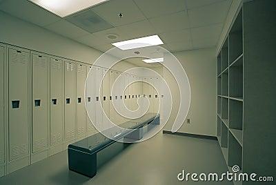 Higienic locker room