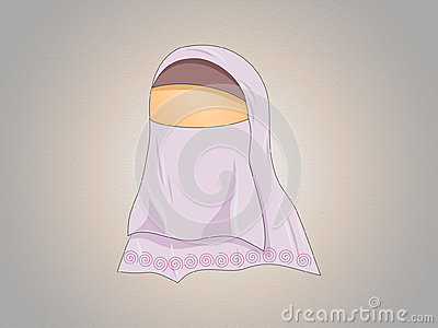 Hijabed girl