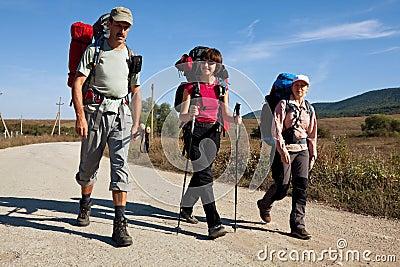 Hike em Crimeia