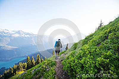 Hike in North Cascades