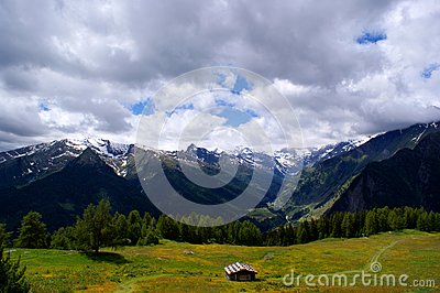 Hike in the  Passeiertal  in South Tyrol