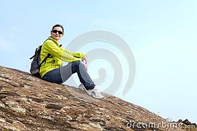 Отдыхая hiker