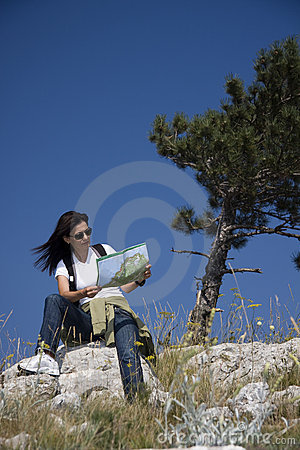карта hiker