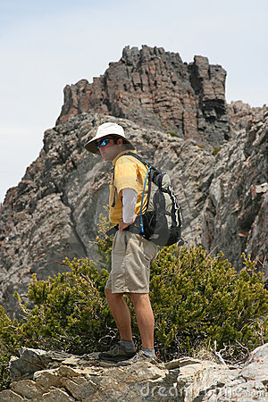 Free Hiker Portrait Royalty Free Stock Photography - 2641417