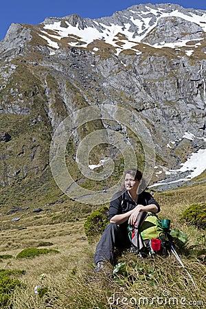 Hiker at Rest