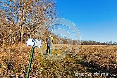 Hiking тропка