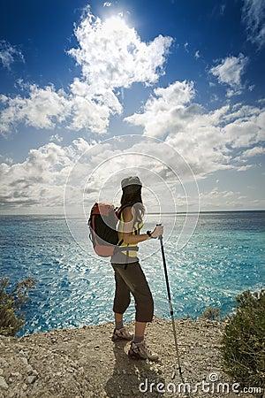 Free Hiking Royalty Free Stock Image - 6443616