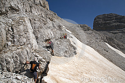 Hiking at Albanian Alps