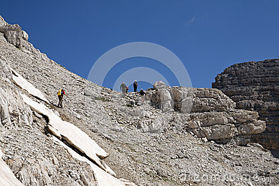 Hiking at Albanian Alps