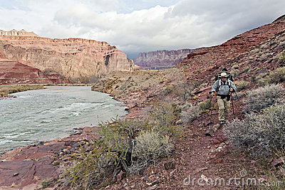 Hiking Along the Colorado River