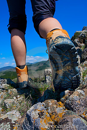 Free Hiking Boot Royalty Free Stock Photography - 14790627