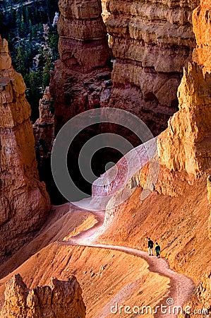 Free Hiking Bryce Canyon Stock Photo - 3773130