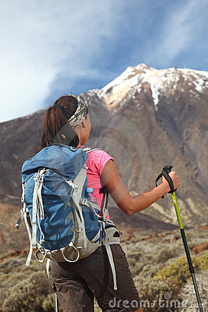 Free Hiking Challenge Royalty Free Stock Photos - 13427838